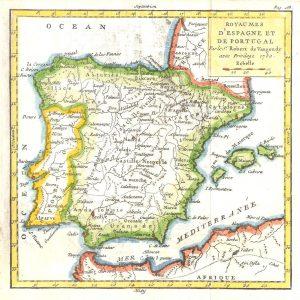 #712 Spain & Portugal, 1750