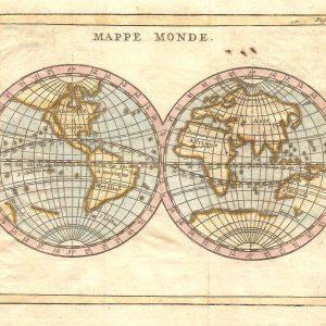 #1013 World Hemispheres, 1750