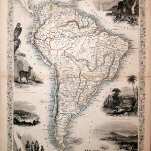 #146 South America, 1851