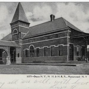 #1693 Railroad Depot, Mamaroneck 1907