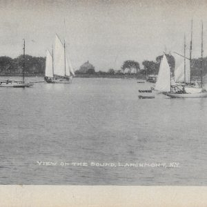#1775 View on the Sound, Larchmont 1905