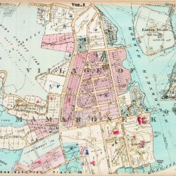 antique map mamaroneck