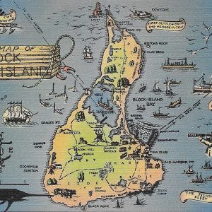#5552 Block Island, circa 1940s