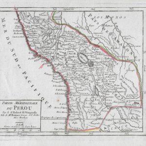 #267 Peru, circa 1749
