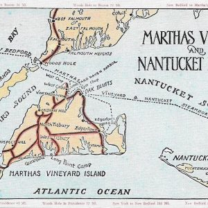 #2698 Martha's Vineyard & Nantucket Islands, 1937