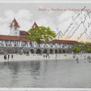#2854 Bathing Pavilion at Oakland Beach, Rye 1915