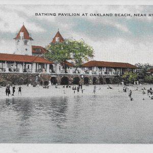 #2865 Bathing Pavilion at Oakland Beach, Rye 1915