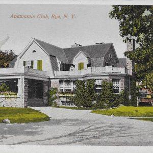 #3148 Apawamis Club, Rye 1910