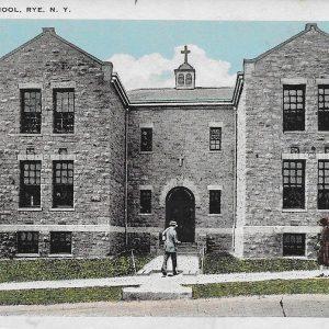 #3458 Parochial School, Rye circa 1920s