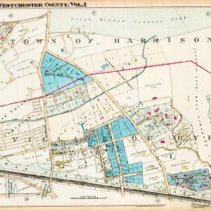 #2787 Town of Harrison/Village of Rye, 1929