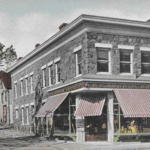 #3527 Drugstore on Purchase Street, Rye 1908