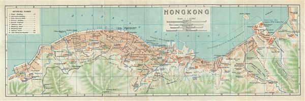 #3562 Hong Kong, China 1924