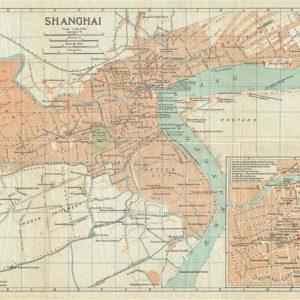 #3564 Shanghai, China 1924
