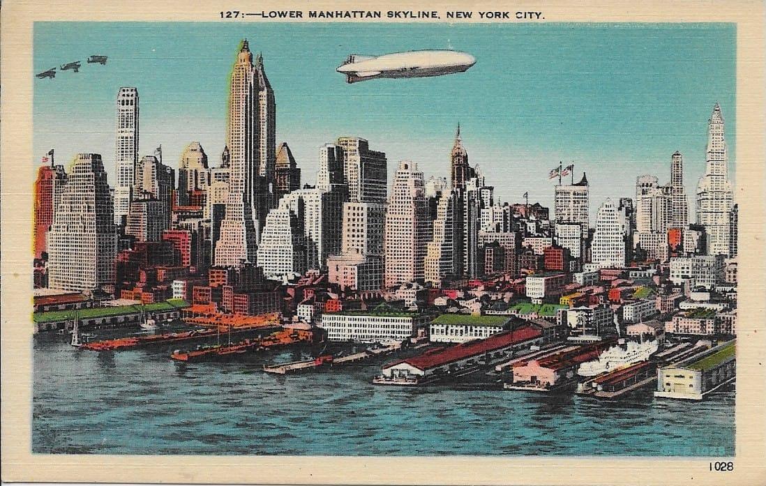 New York City postcards – Circle 7 Framing