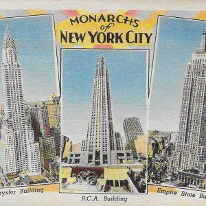 #3774 Monarchs of New York City, ca1940