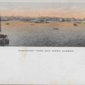 #3773 Nantucket Town & Inner Harbor, circa 1910s