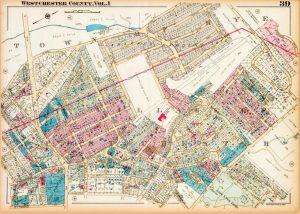 antique map rye