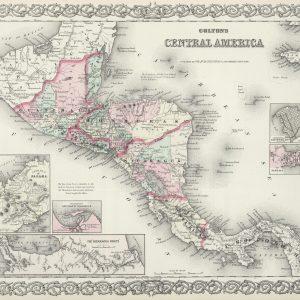 #3944 Central America, 1874