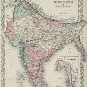 #3979 India, 1874