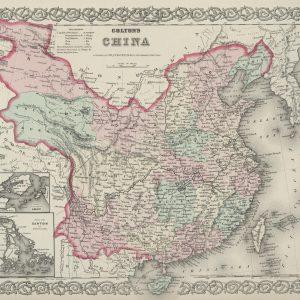 #3980 China, 1874