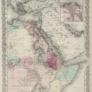 #3982 North Eastern Africa, 1874