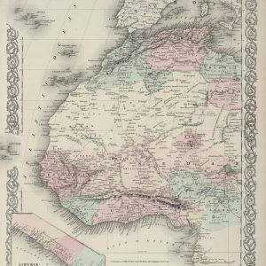 #3983 North Western Africa, 1874