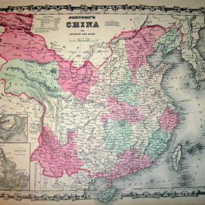 #593 China 1863