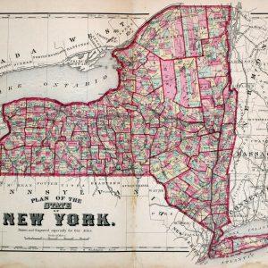 #598 New York State, 1872