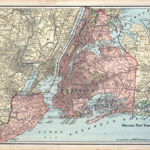 #824 Greater New York City, 1899