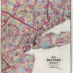 #3236 New York City Vicinity, 1867