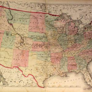 #3640 United States & Territories, 1872
