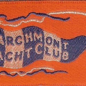 #1277 Larchmont Yacht Club tobacco silk, circa 1910