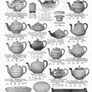 #277b Harrod's Teapots, 1914