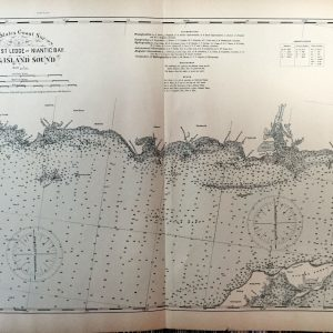 #2982 Long Island Sound, Southwest Ledge to Niantic Bay, 1893