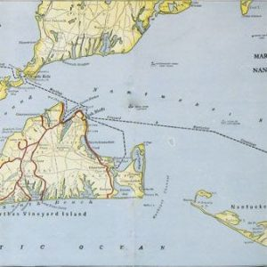 #3140 Martha's Vineyard & Nantucket, 1934