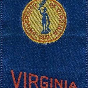 #3635 University of Virginia tobacco silk, 1910