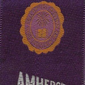 #4002 Amherst University tobacco silk, 1910