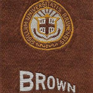 #2686 Brown University tobacco silk, 1910