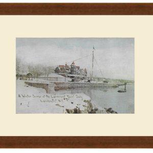 Larchmont Yacht Club, Winter 1910