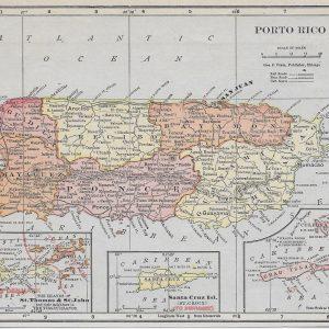 #1236 Puerto Rico, 1908