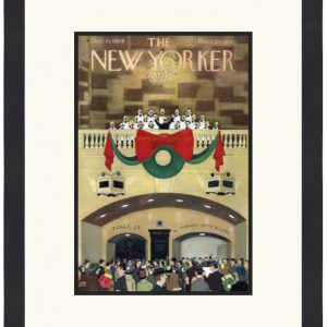 Original New Yorker Cover December 11, 1954