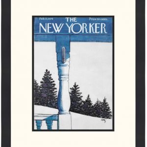 Original New Yorker Cover February 11, 1974