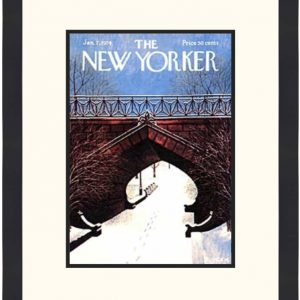 Original New Yorker Cover January 7, 1974