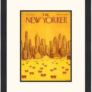 Original New Yorker Cover February 18, 1974