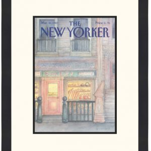 Original New Yorker Cover March 30, 1987