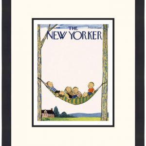Original New Yorker Cover July 16, 1958