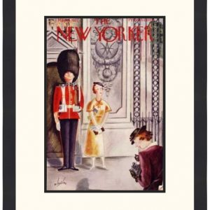 Original New Yorker Cover May 15, 1937
