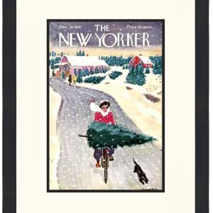 Original New Yorker Cover December 19, 1942