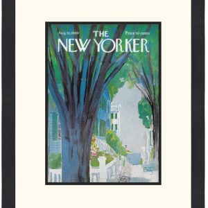 Original New Yorker Cover August 30, 1969
