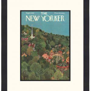 Original New Yorker Cover September 1, 1951